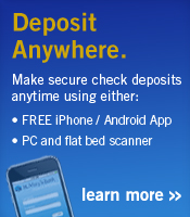 desposit checks anytime from anywhere