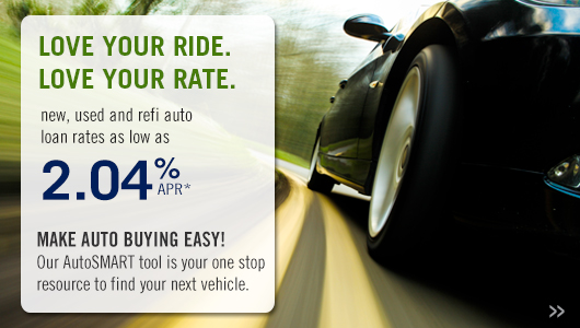 low auto loan rate and AutoSMART